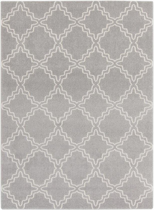 Bogdan Gray Area Rug Rug Size: Rectangle 5'3