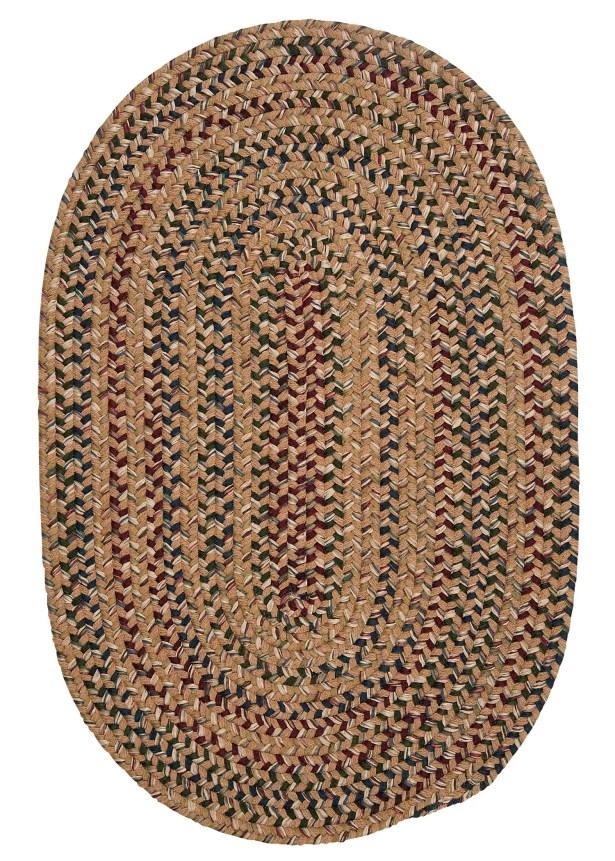 Greenlaw Evergold Area Rug Rug Size: Round 8'