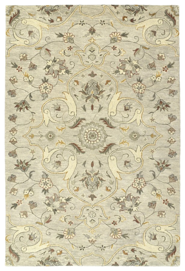 Fischer Hand-Tufted Mushroom Area Rug Rug Size: Rectangle 10' x 14'