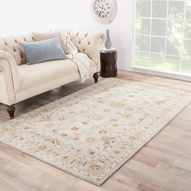 Trinningham Blue/Brown Rug Rug Size: Rectangle 3'6