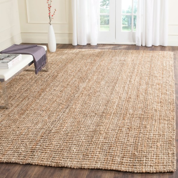 Gaines Power Loom Natural Area Rug Rug Size: Rectangle 6' x 9'