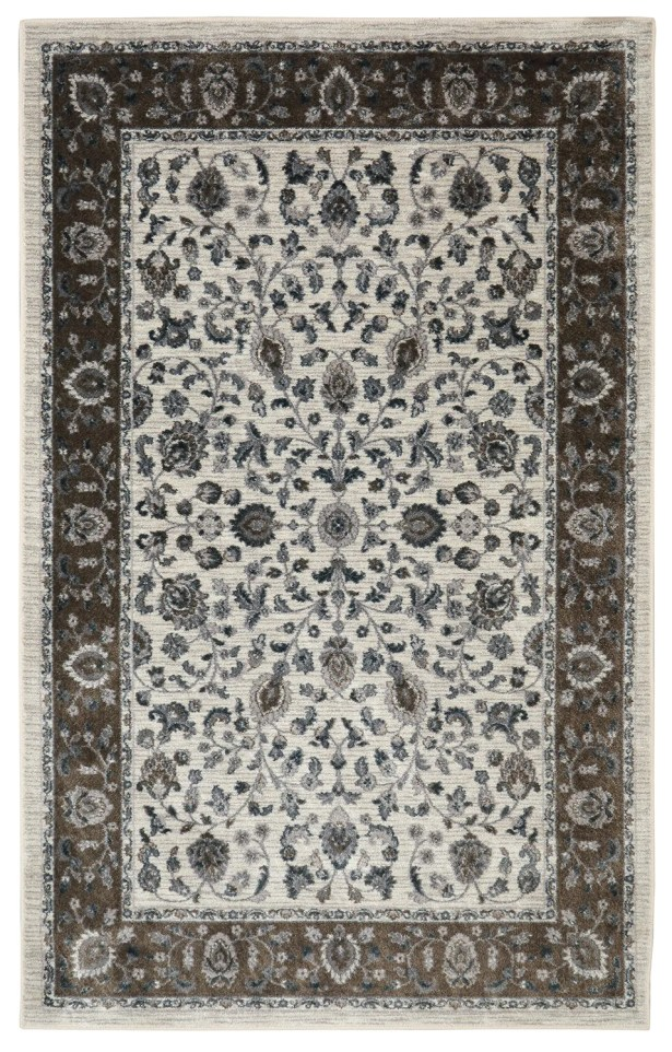 Millstone Sand/Cream Area Rug Rug Size: Rectangle 5' x 8'