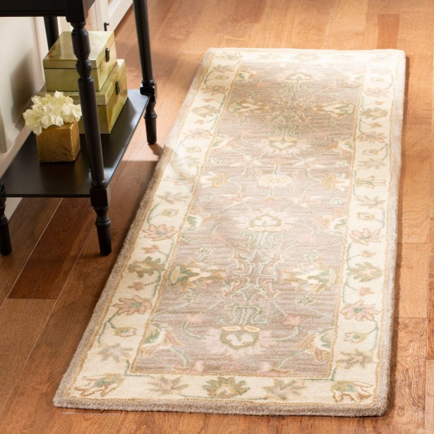 Cranmore Brown/Ivory Area Rug Color: Brown / Ivory, Rug Size: Runner 2'3