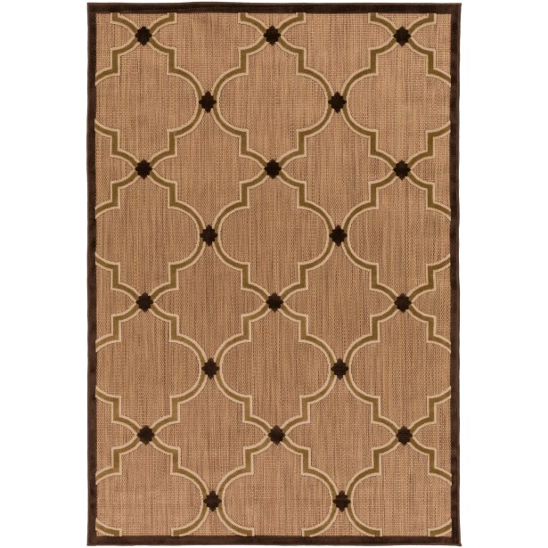 Carver Multi Indoor/Outdoor Area Rug Rug Size: Rectangle 4'7