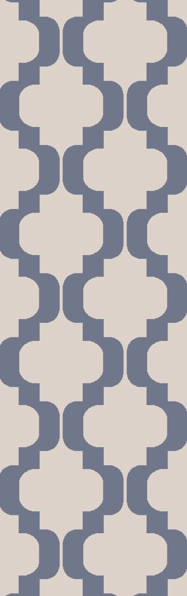 West Harptree Beige/Blue Area Rug Rug Size: Runner 2'6
