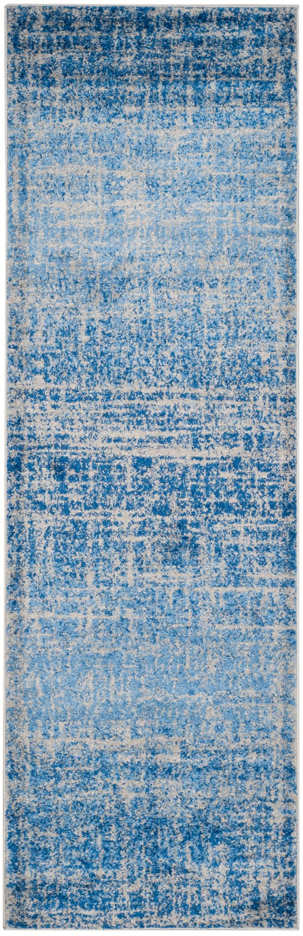 Connie Blue/Silver Area Rug Rug Size: Runner 2'6