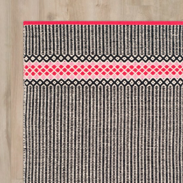 Shevchenko Place Hand-Woven Light Pink Area Rug Rug Size: Rectangle 5' x 7'