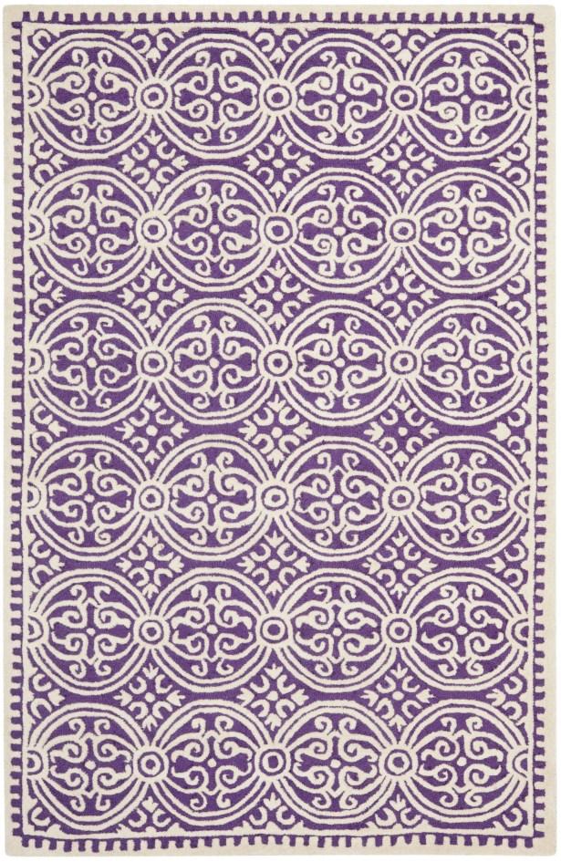 Fairburn Purple   Area Rug Rug Size: Rectangle 5' x 8'