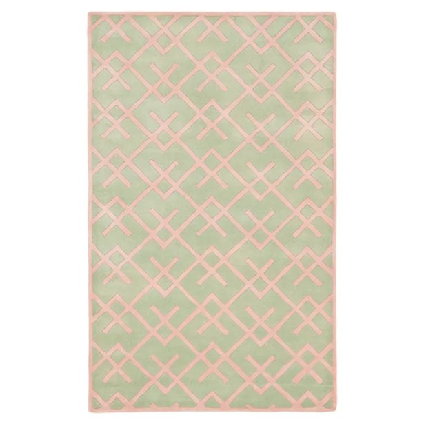 Wilkin Green Rug Rug Size: Rectangle 3' x 5'