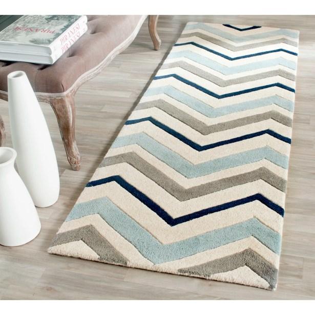 Wilkin Hand-Tufted Wool Area Rug Rug Size: Runner 2'3