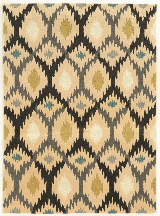 Askins Hand-Tufted Grey Area Rug Rug Size: Rectangle 8' x 10'