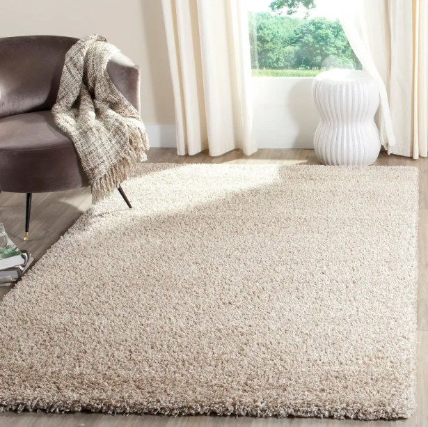 Chevalier Beige/White Area Rug Rug Size: Rectangle 8' x 10'