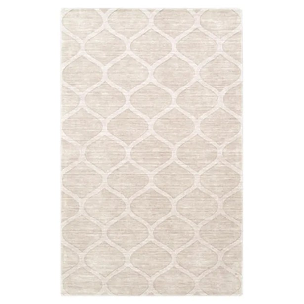 Villegas Winter White Area Rug Rug Size: Rectangle 8' x 11'