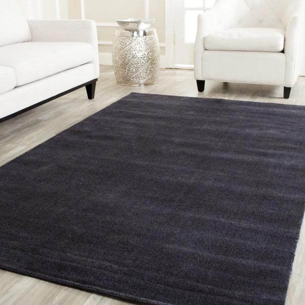 Bargo Black Area Rug Rug Size: Rectangle 9' x 12'