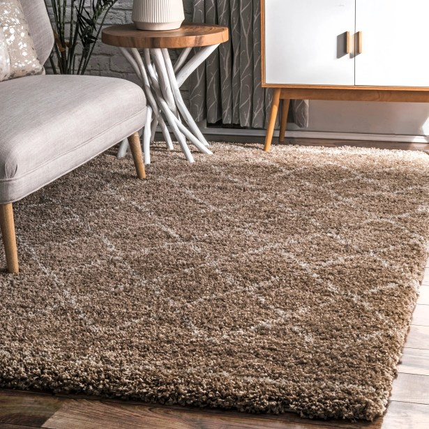 Bourget Brown Area Rug Rug Size: Rectangle 7'6