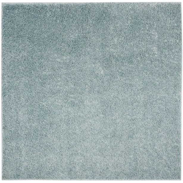 Helsel Blue Area Rug Rug Size: Square 6'7