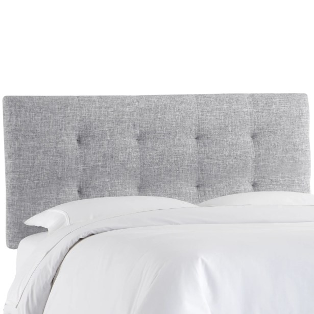 Castellon Tufted Upholstered Panel Headboard Size: California King, Upholstery: Pumice