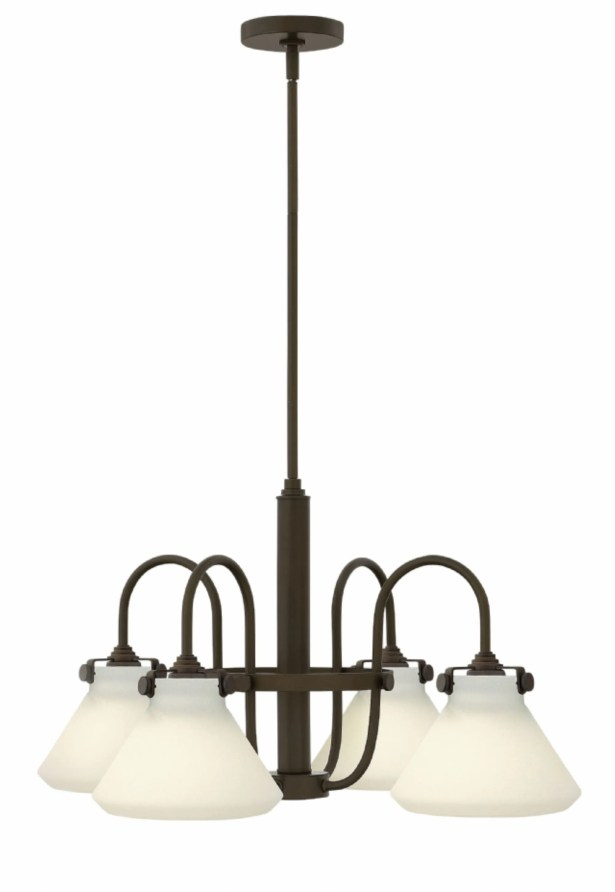 Congress 4 Light Chandelier Finish: Oil Rubbed Bronze
