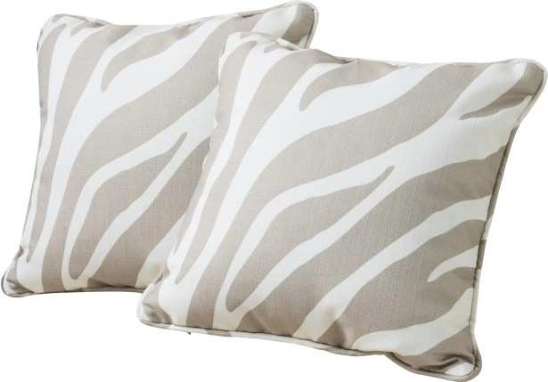 Dufour Throw Pillow Color: Putty