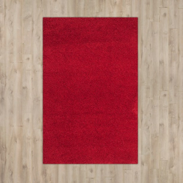 Nickols Red Area Rug Rug Size: Rectangle 8'6