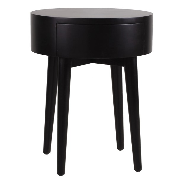 Lansdown End Table Color: Black