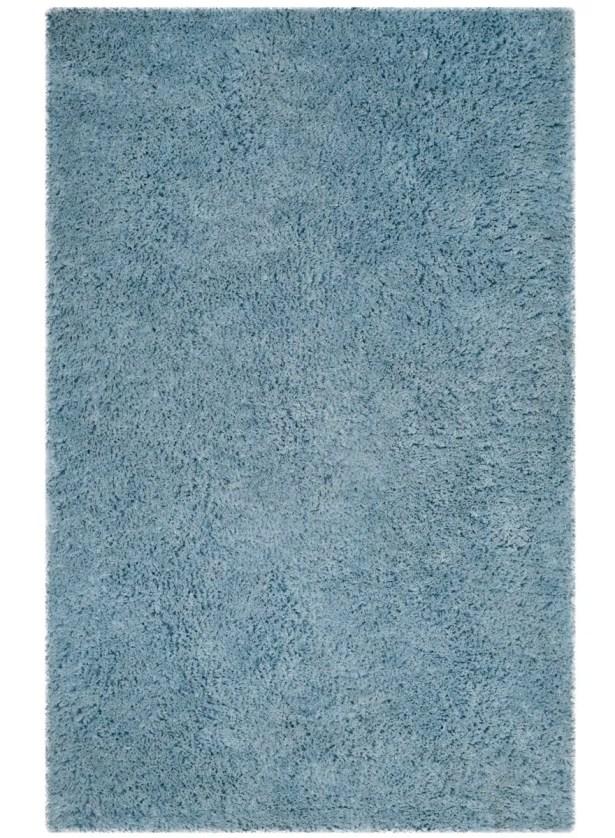 Elborough Hand-Tufted Blue Area Rug Rug Size: Rectangle 3' x 5'