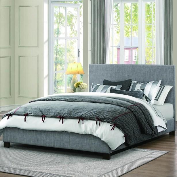 Lucille Upholstered Platform Bed Size: Full