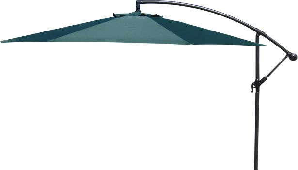 Trotman 10' Cantilever Umbrella Fabric: Green