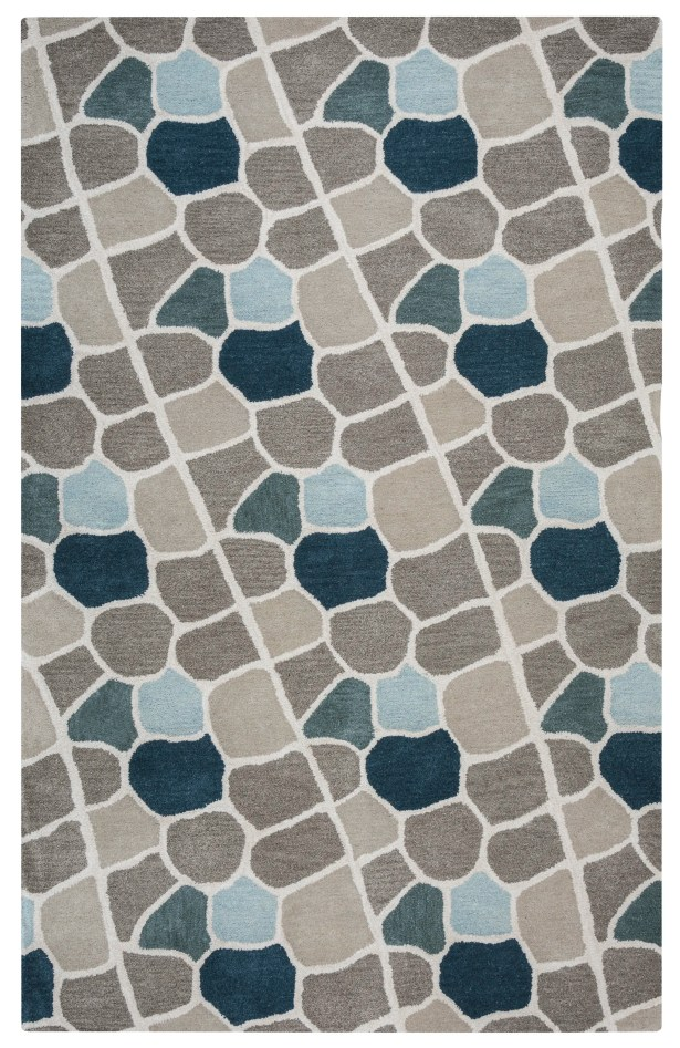 Galles Hand-Tufted Multi Area Rug Rug Size: Rectangle 9' x 12'