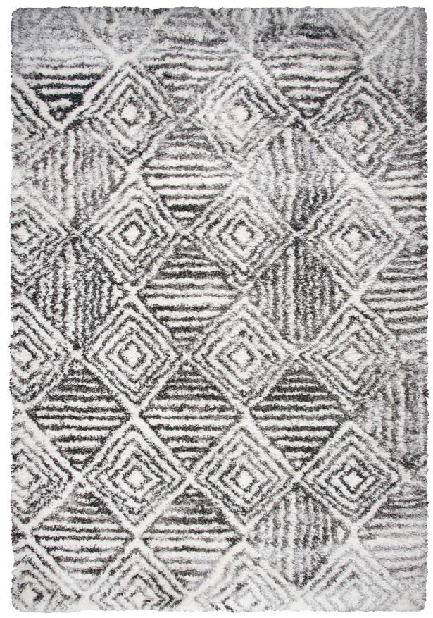 Cottone Charcoal Shag Area Rug Rug Size: Rectangle 7'10