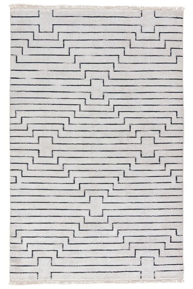 Geist Vaporous Hand Woven Gray/Raven Area Rug Rug Size: Rectangle 2' x 3'
