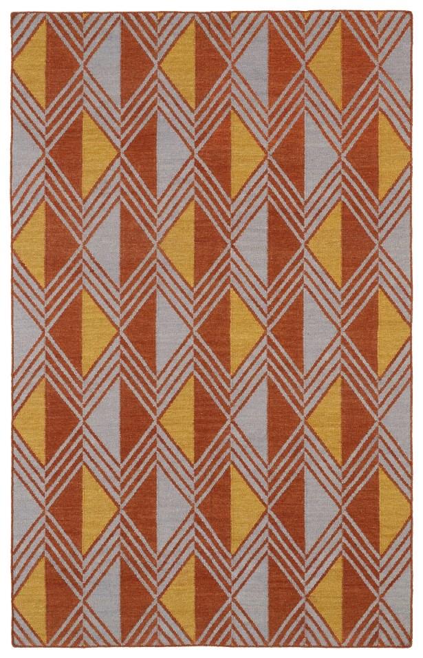Cory Geometric Area Rug Rug Size: Rectangle 9' x 12'