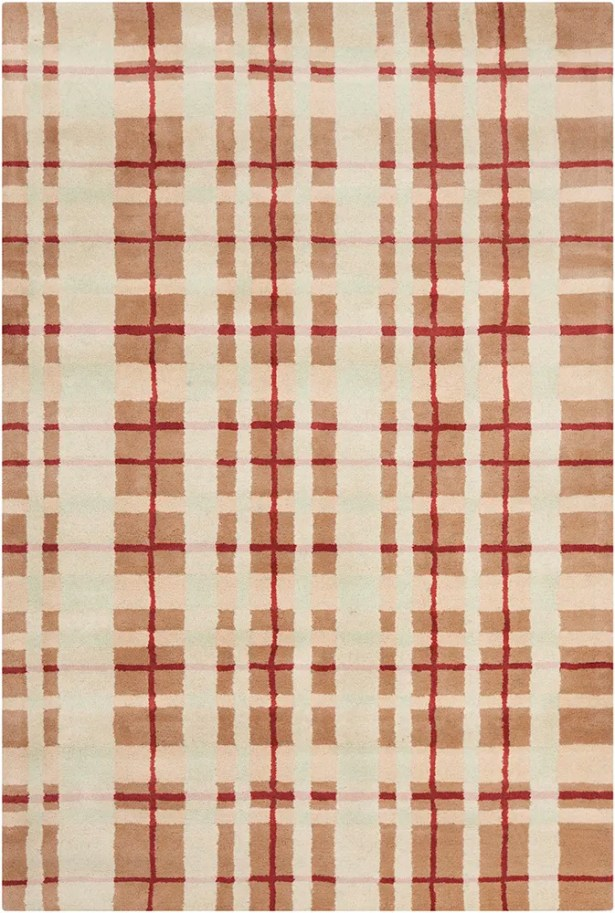 Willa Hand Tufted Wool Brown/Beige Area Rug Rug Size: 8' x 10'