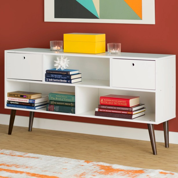 Carneal 53.15 TV Stand Color: White