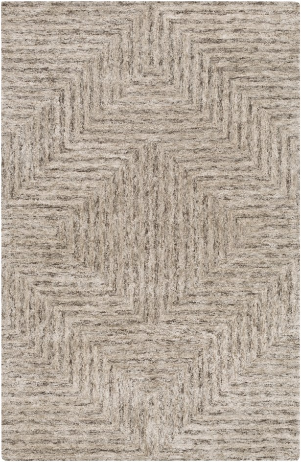 Sylvie Taupe Area Rug Rug Size: Rectangle 4' x 6'