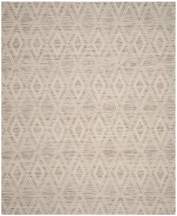 Alexandria Hand-Woven Light Brown/Ivory Area Rug Rug Size: Rectangle 5' x 8'