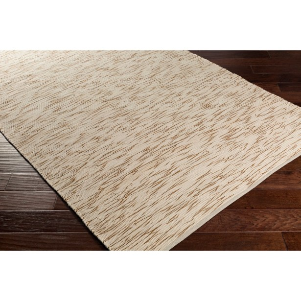 Forestport Hand-Woven Brown/Neutral Area Rug Rug Size: Rectangle 4' x 6'
