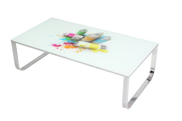 Art Glass Coffee Table