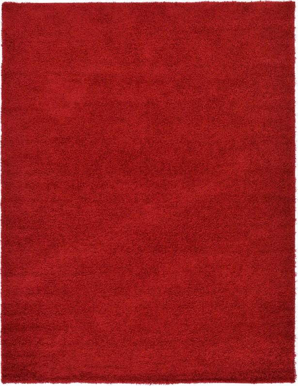 Madison Basic  Cherry Red Area Rug Rug Size: Rectangle 9' x 12'