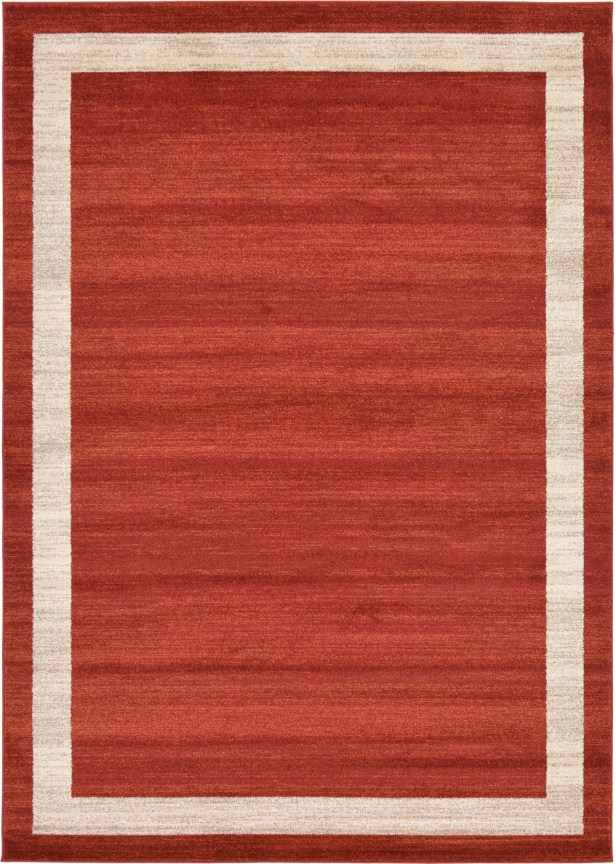 Christi Red/Beige Area Rug Rug Size: Rectangle 7' x 10'