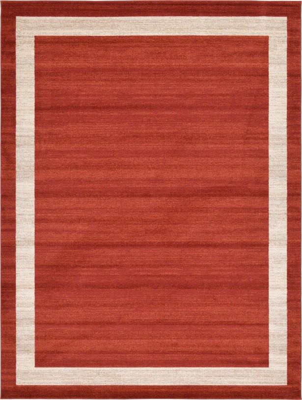 Christi Red/Beige Area Rug Rug Size: Rectangle 9' x 12'
