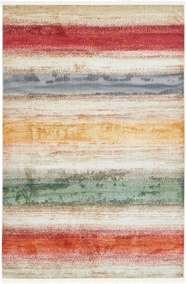 Eladia Gray Area Rug Rug Size: Rectangle 5'5