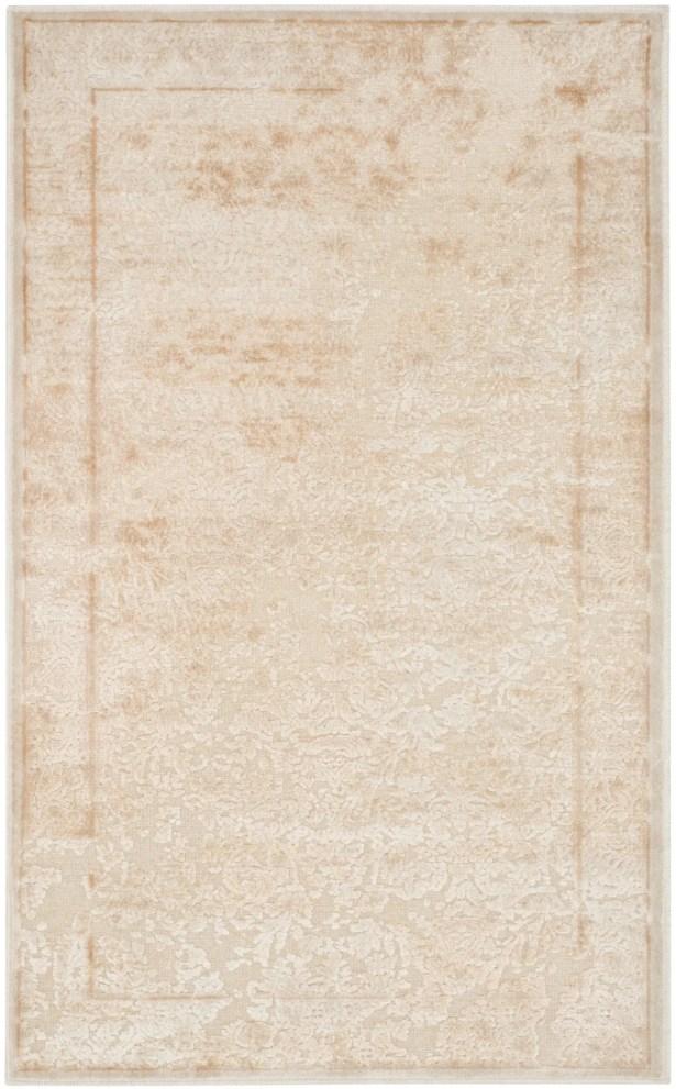 Ellicott White Area Rug Rug Size: Rectangle 4' x 5'7
