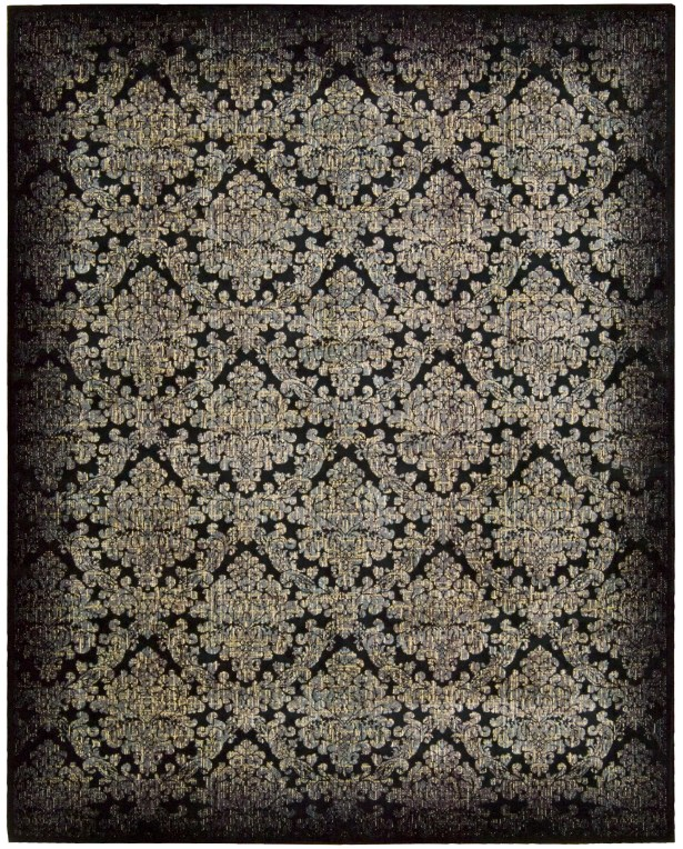 Nate Black/Gray Area Rug Rug Size: Rectangle 3'6