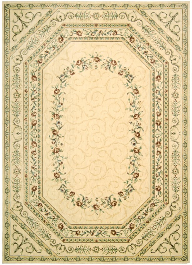 Mickinley Ivory Area Rug Rug Size: Rectangle 2'3