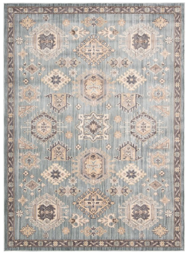 Frantz Seafoam Area Rug Rug Size: Rectangle 5'3