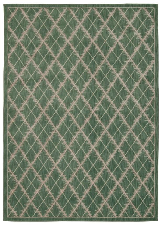 Galsworthy Light Green Area Rug Rug Size: Rectangle 7'9