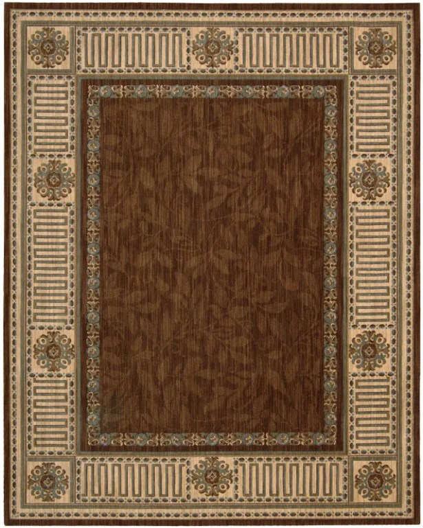 Bryn Brown Area Rug Rug Size: Rectangle 8'3