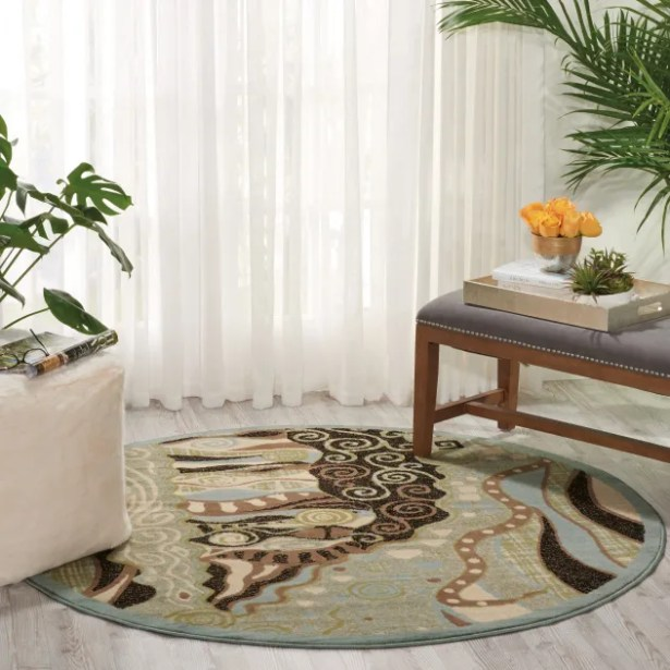 Hyde Green Area Rug Rug Size: Rectangle 7'10
