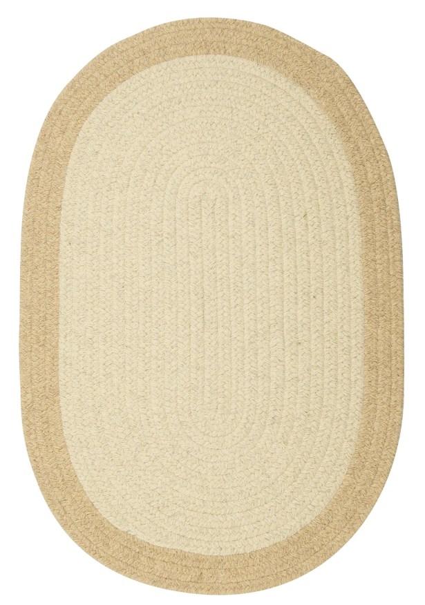 Rupert Linen Area Rug Rug Size: Oval 10' x 13'